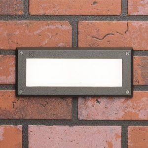 1 Light Deck Light in Textured Architectural Bronze