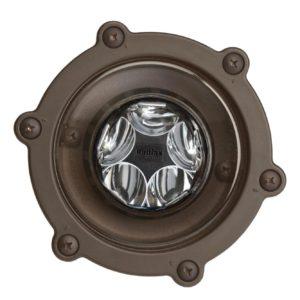 5 Light Well Light in Bronzed Brass