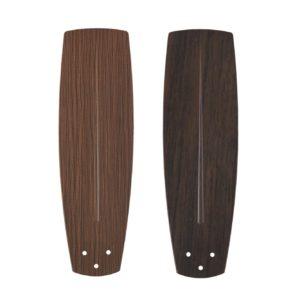 Fan Blades in Dark Walnut-Light - Reversible