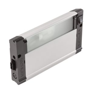 1 Light Light Bar in Nickel Textured