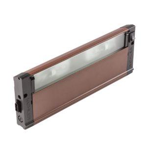 2 Light Light Bar in Bronze Textured