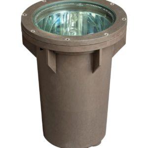 1 Light Well Light in Bronze