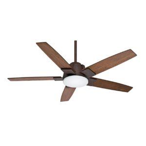 1 Light Ceiling Fan in Industrial Rust