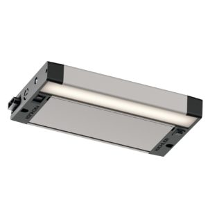 The high quality light output of the 6U Series LED under-cabinet fixture offers a consistently diffused