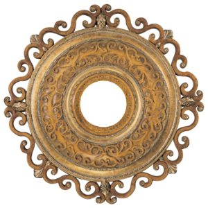 Ceiling Medallion in Tuscan Patina